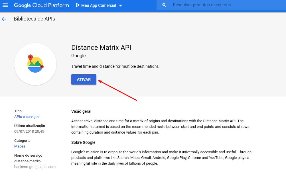 Como Gerar Uma API Javascript do Google Maps