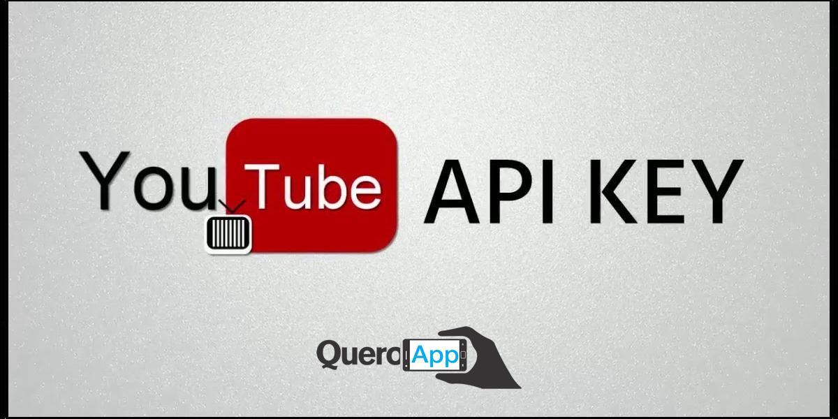 Como criar e configurar a API Key do YouTube no seu app