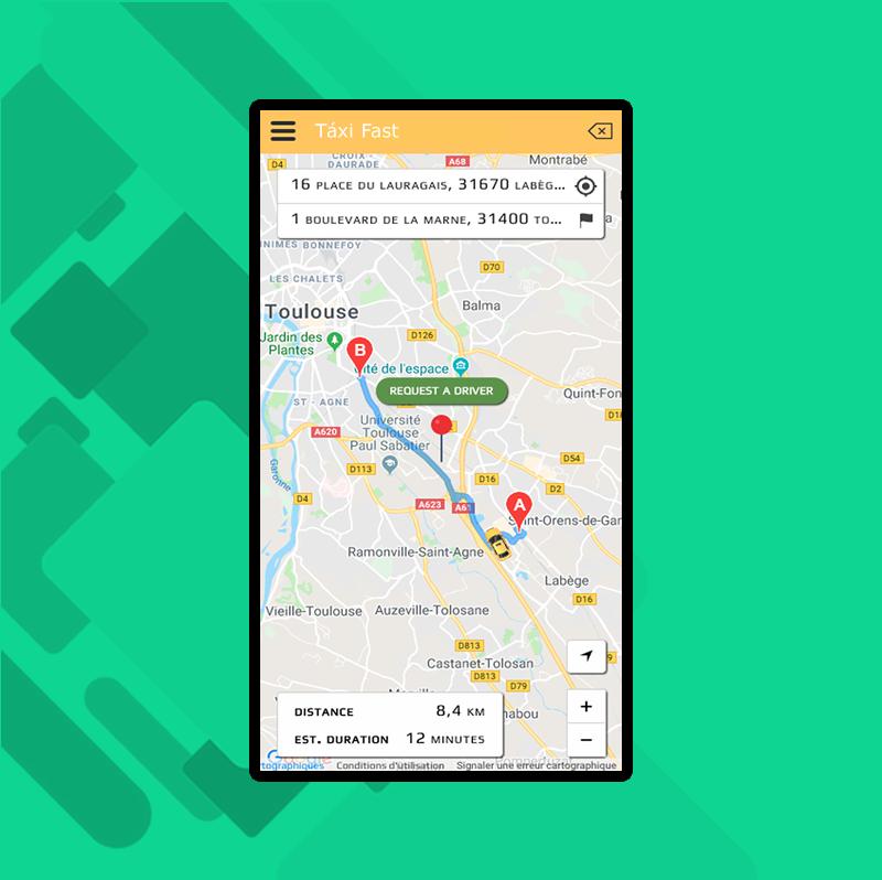 App Uber Táxi - Fazemos para você