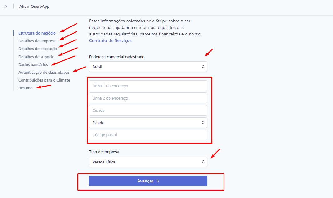 Como criar e configurar as credenciais de API de pagamentos da Stripe